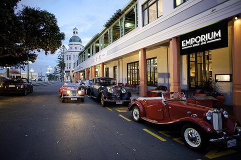 Masonic Art Deco Hotel