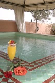 Riad Amina Hotel Marrakech Sidi ben Slimane Derb Si Mouh 1