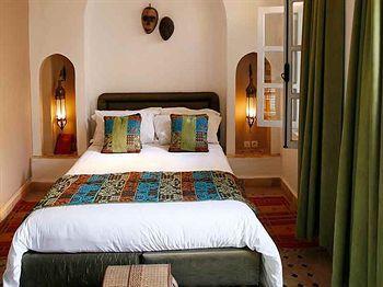 Riad La Maison Rouge Hotel Marrakech 54 Bis Derb Zemrane Quartier Berrima
