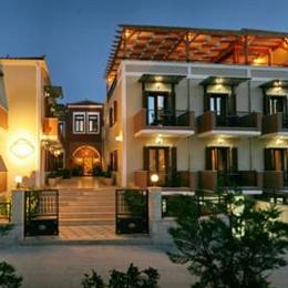 Theofilos Paradise Boutique Hotel, in the nearby from kanoni thermis
