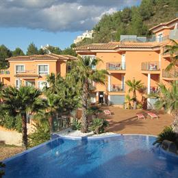 Magnifico Apartamento En Aparthotel Benitachell, in the nearby from La Grava