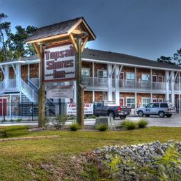 Topsail Shores Inn, in the nearby from N. Topsail Bridge - Wildlife Ramp