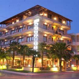Hotel Tropicana Paralia Katerinis, in the nearby from korinos