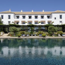 Hotel Finca Cortesín Golf and Spa Casares, in the nearby from Playa Ancha