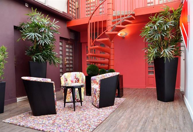 Emeraude Tivoli Etoile Hotel Paris_16