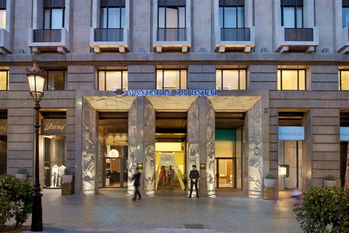 The Mandarin Oriental Is A Luxury Five Star Hotel Located In Peig De Gràcia And As Such It Close Vicinity To City S Finest Most Expensive