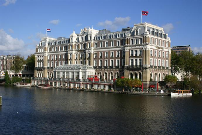 Couched On The Banks Of Amstel River Intercontinental Is A Luxury Five Star Hotel With Striking Aesthetic Sense And An Even More Impressive View
