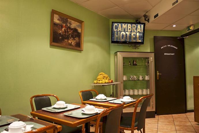Hotel Cambrai Paris