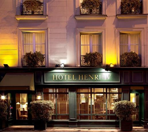 Hotel Henri 4 Paris