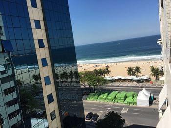 Conforto na Praia de Copacabana
